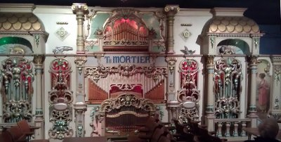 97 key Mortier 'Four Columns' Organ